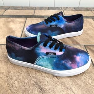 VANS Galaxy Toddler Low Skate Shoes SZ 13